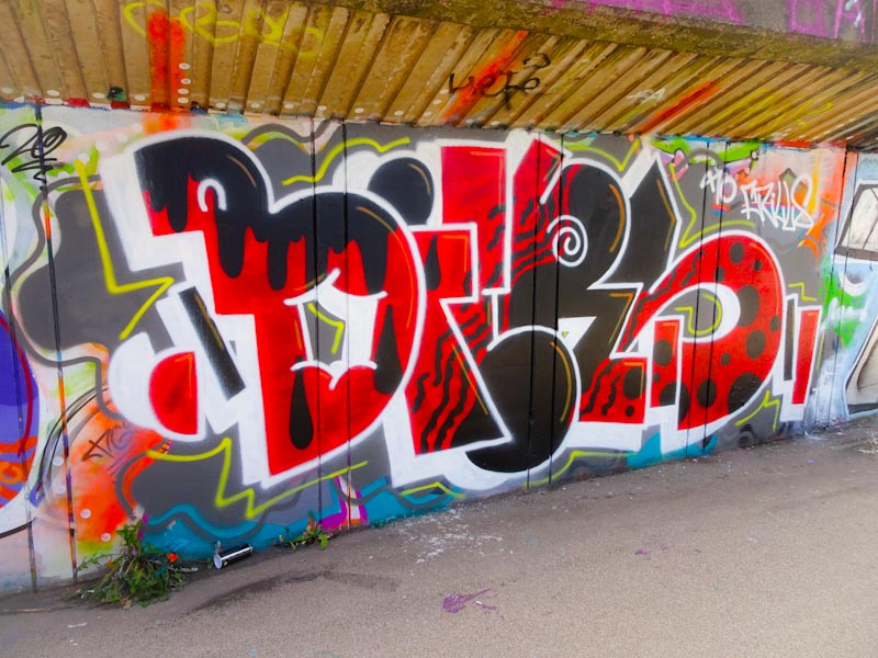 Biers, M32 cycle path, Bristol, August 2020