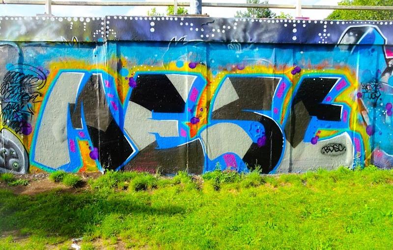 Mest, M32 roundabout, Brisol, August 2020