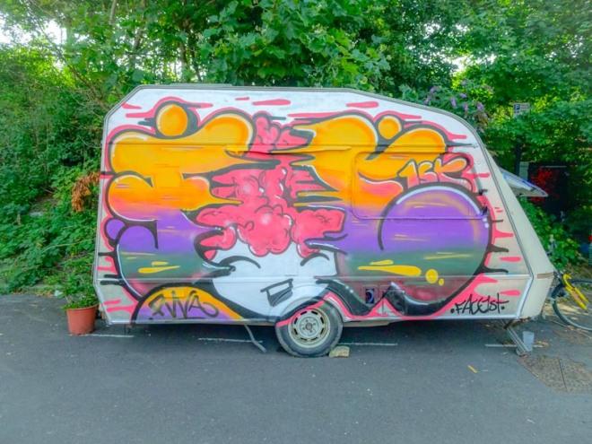 Face 1st, M32 roundabout, Bristol, August 2020