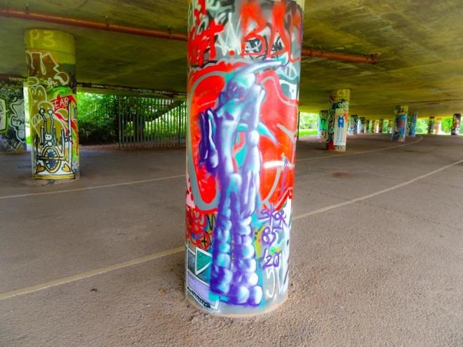 Skor85, Brunel Way, Bristol, August 2020
