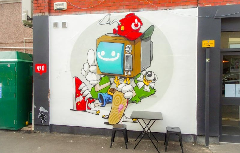 Cheo, Raleigh Road, Bristol, August 2020