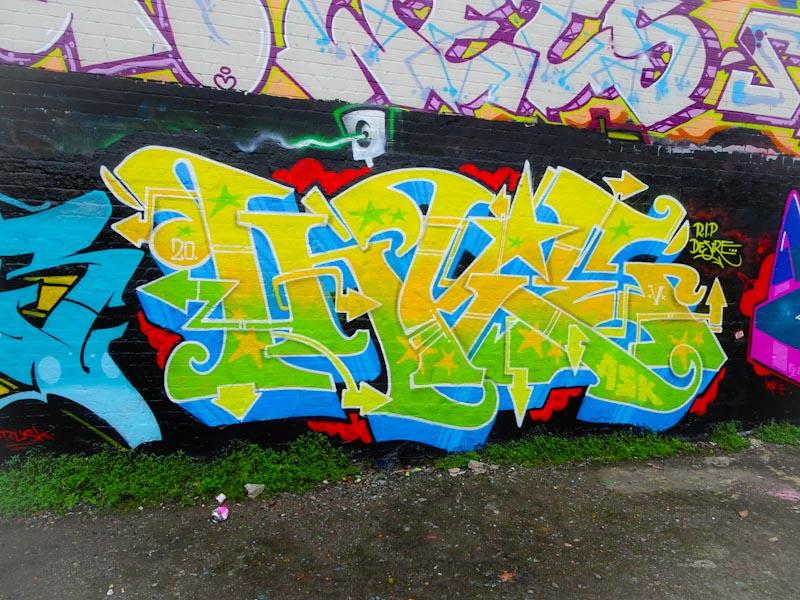 Inkie, Dean Lane, Bristol, August 2020