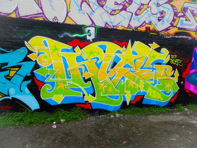 Inkie, Dean Lane, Bristol, August 2020