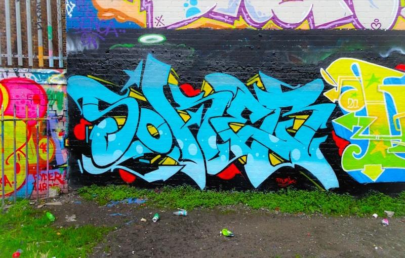 Soker, Dean Lane, Bristol, August 2020