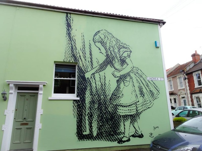 Stewy and Voice of Joan, Lindrea Street, Bristol, July 2020