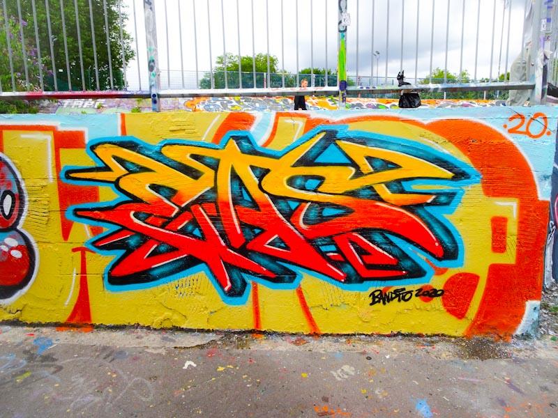 Bandito, Dean Lane, Bristol, July 2020