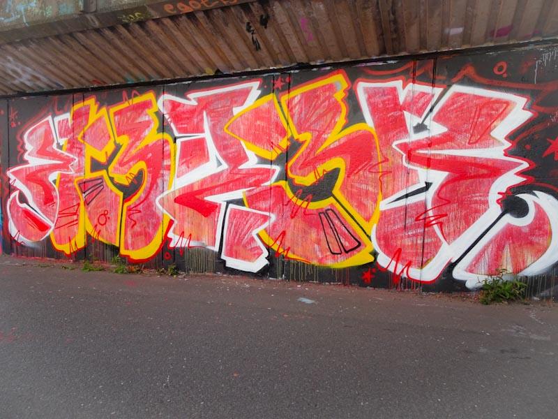Reezwonk, M32 cycle path, Bristol, July 2020
