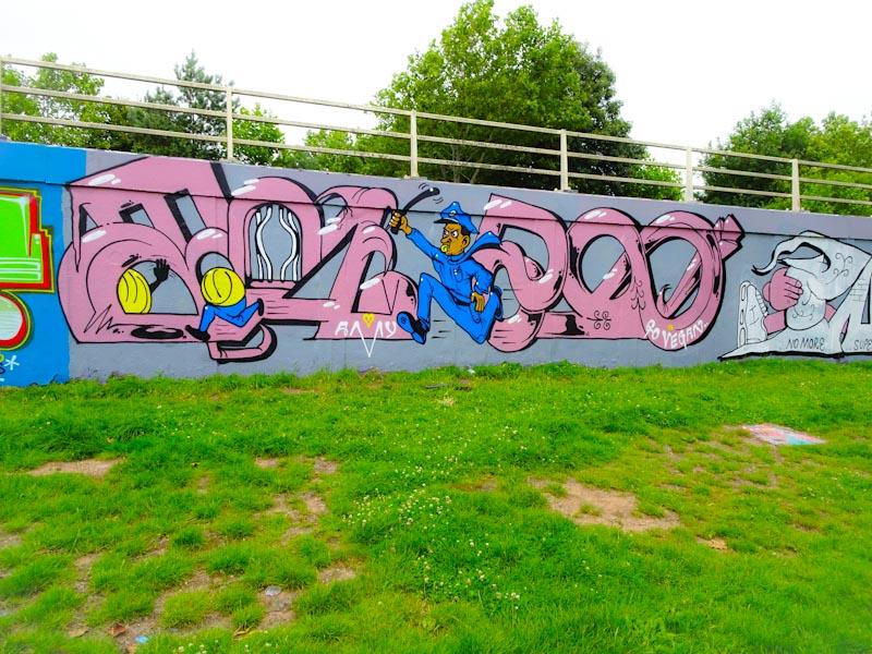 Taboo, M32 roundabout, Bristol, July 2020