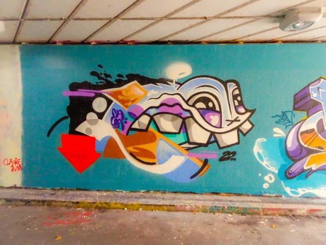 Flava136, Paint Festival 2020, Cheltenham, September 2020