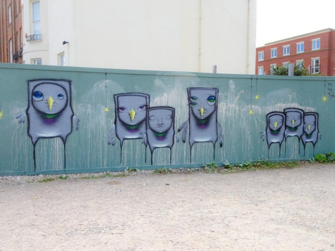 My Dog Sighs, Paint Festival 2020, Cheltenham, September 2020