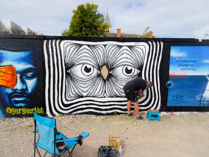 Daub, Paint Festival 2020, Cheltenham, September 2020
