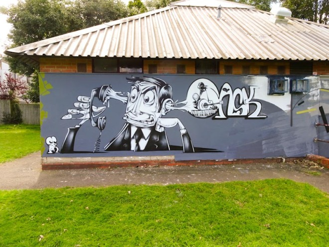 Sepr, Paint Festival 2020, Cheltenham, September 2020