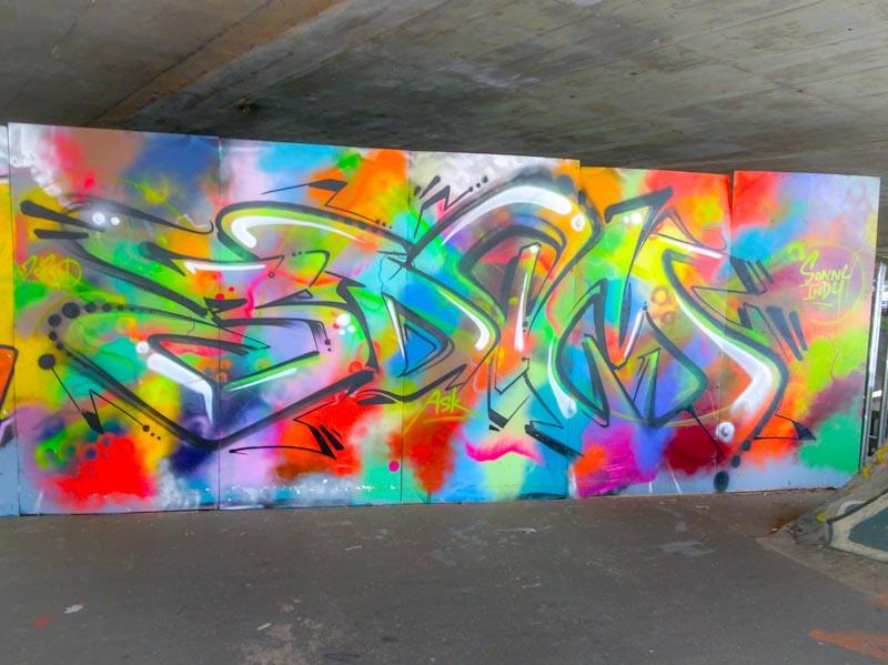 3Dom, M32 Spot, Bristol, September 2020