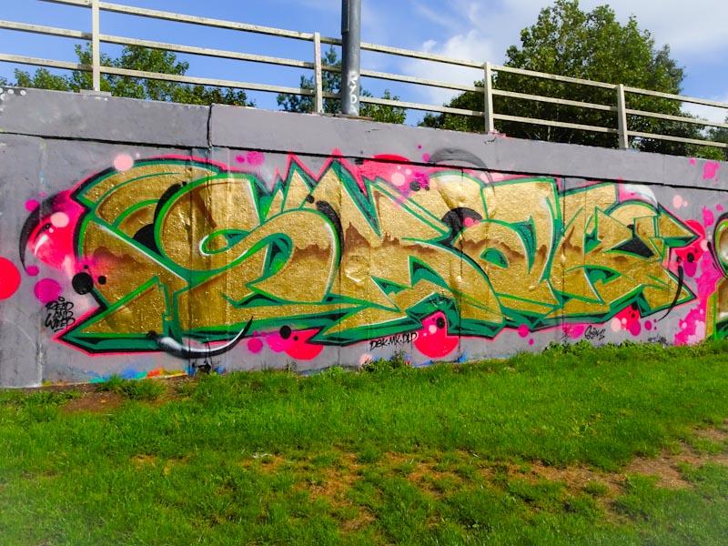 Smak, M32 roundabout, Bristol, September 2020