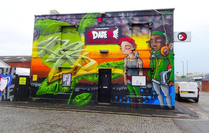 Zase and Silent Hobo, Alfred Street, Bristol, September 2020