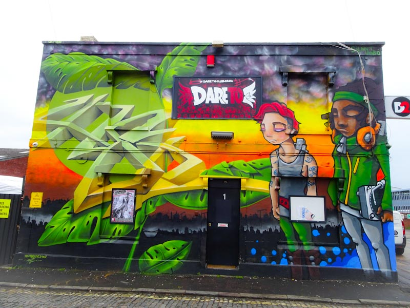 Zase and Silent Hobo, Alfred Street, Bristol, September 2020