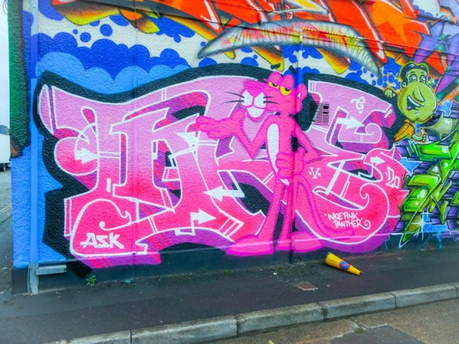 Inkie, Alfred Street, Bristol, September 2020