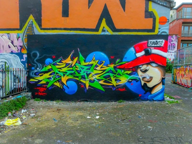 Dibz and Shade One, Dean Lane, Bristol, September 2020