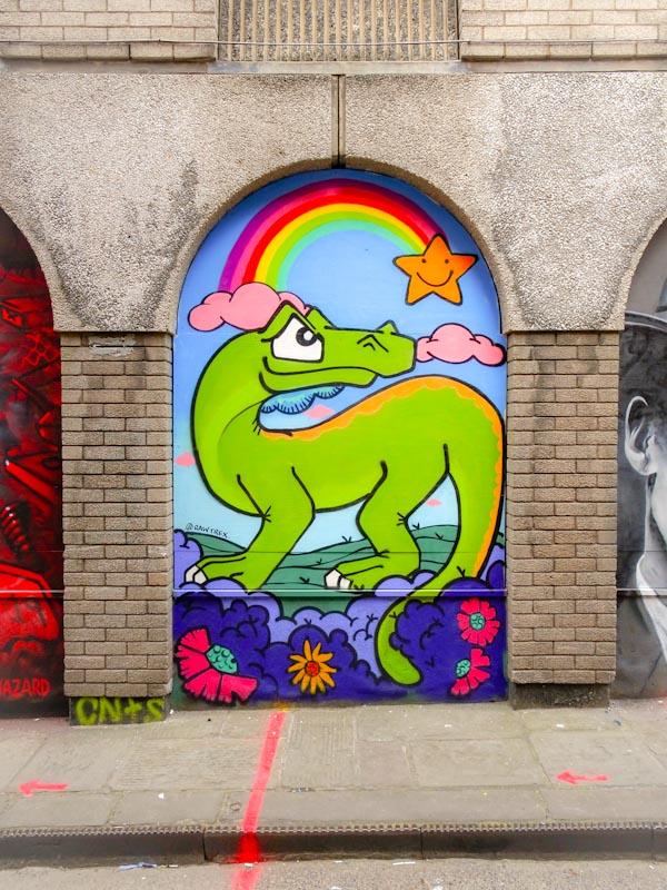 T-Rex, John Street, Bristol, September 2020