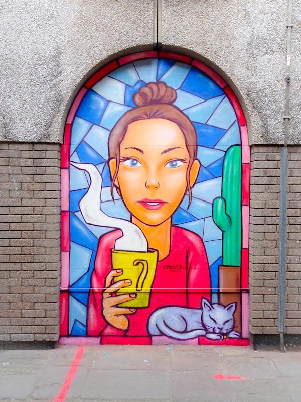 Kid Crayon, John Street, Bristol, September 2020