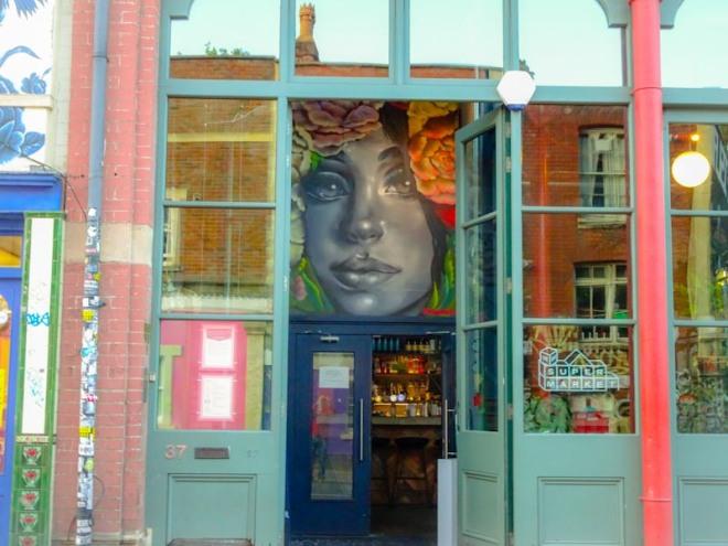 Hazard, Jamaica Street, Bristol, September 2020