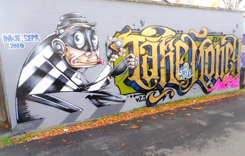 Sepr and Inkie, Princes Place, Bristol, October 2020