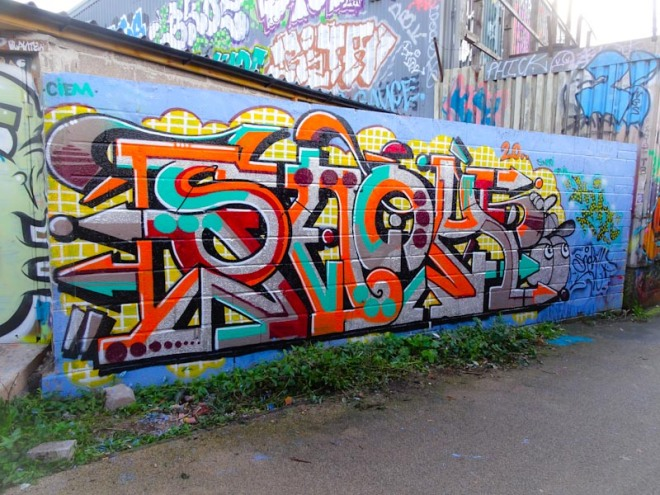 Claro_que_sssnoh, M32 cycle path, Bristol, October 2020