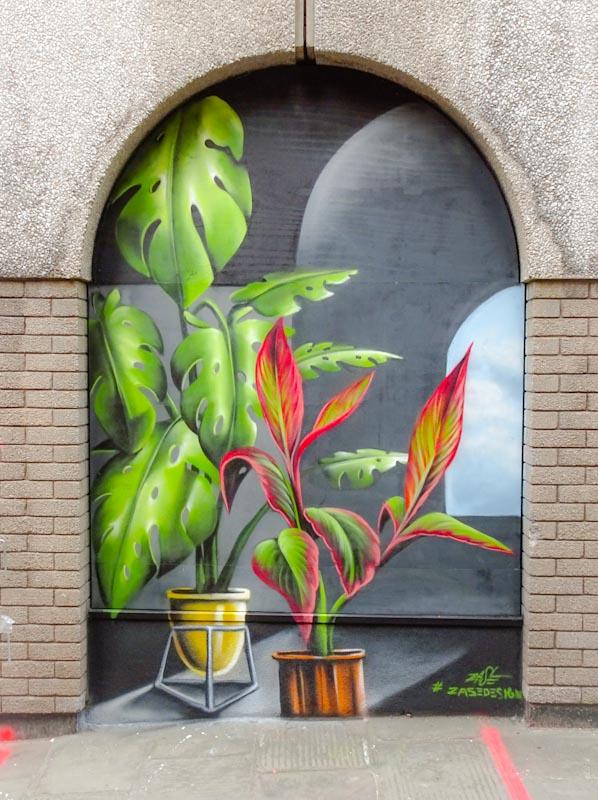 Zase, John Street, Bristol, September 2020