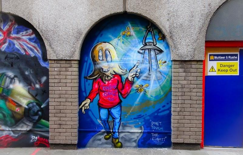Conrico, John Street, Bristol, September 2020