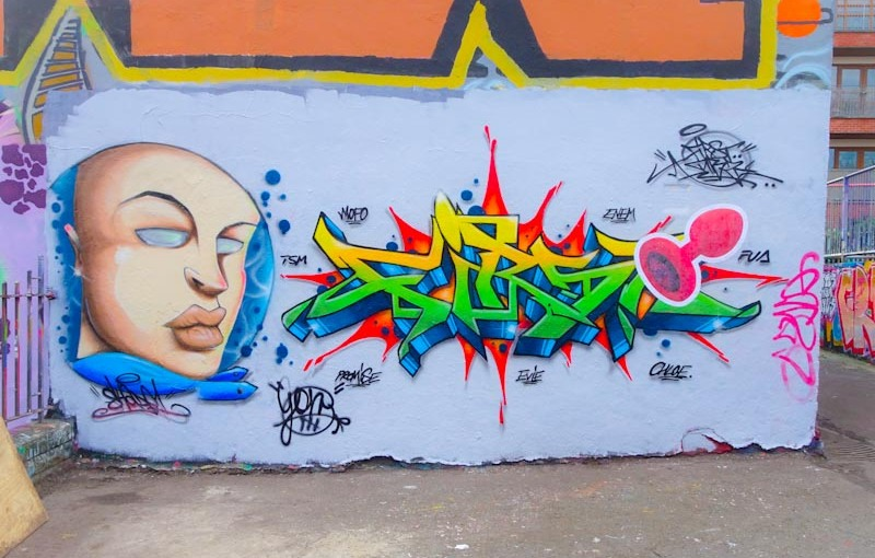 Shade One and Dibz, Dean Lane, Bristol, October 2020
