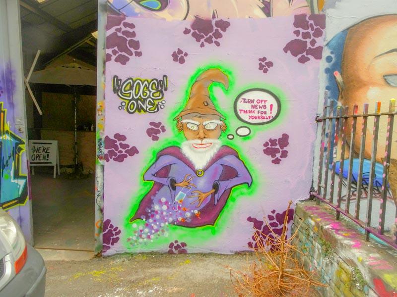 Soge, Dean Lane, Bristol, October 2020