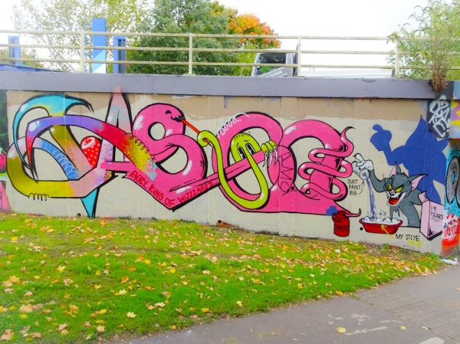 Taboo, M32 roundabout, Bristol, October 2020