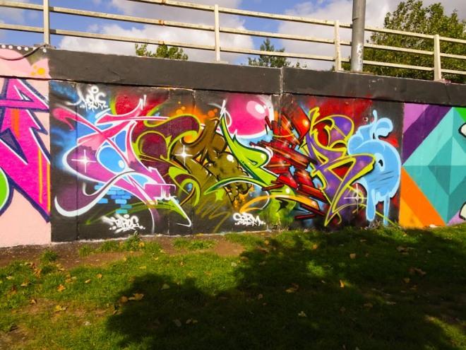 Hemper, M32 roundabout, Bristol, September 2020