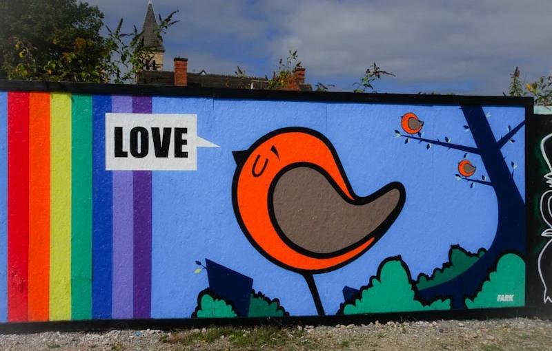 Fark, Paint festival, Cheltenham, September 2020