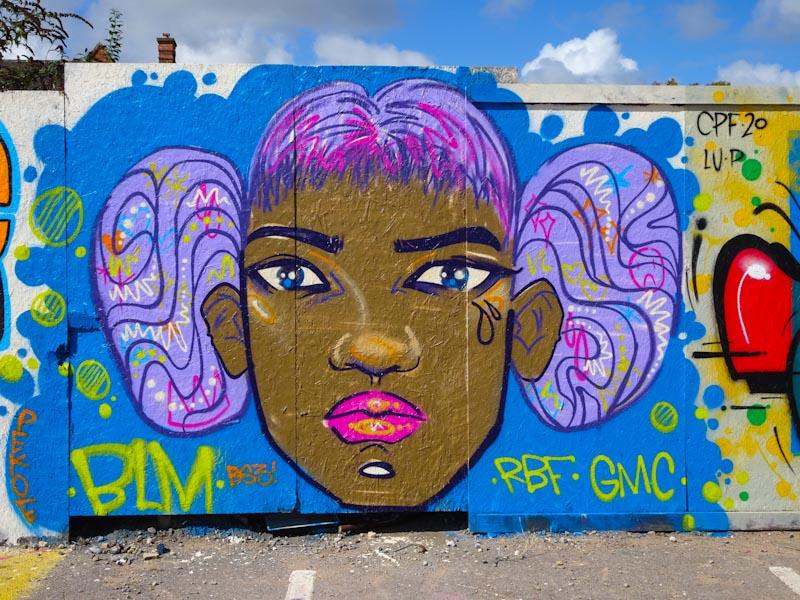 Pekoe, Paint festival, Cheltenham, September 2020