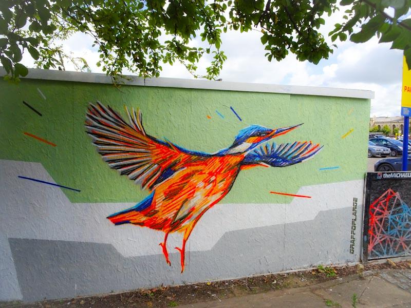 Graffoflarge, Paint festival, Cheltenham, September 2020