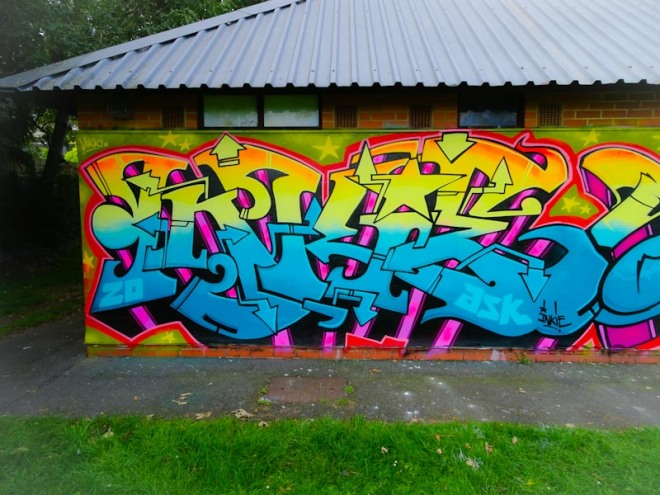 Inkie, Paint festival, Cheltenham, September 2020