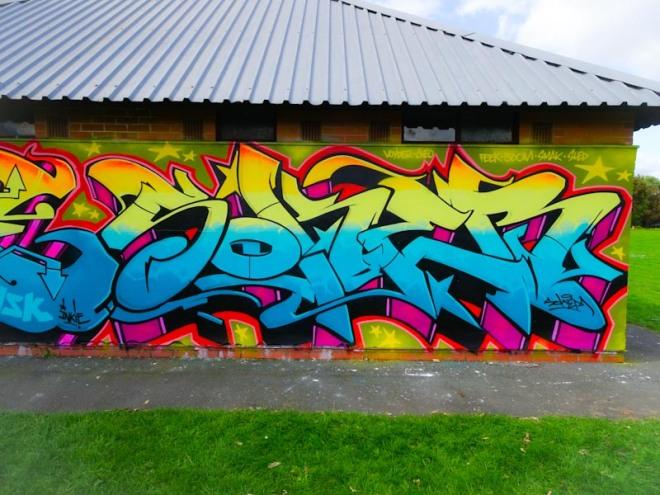 Soker, Paint festival, Cheltenham, September 2020