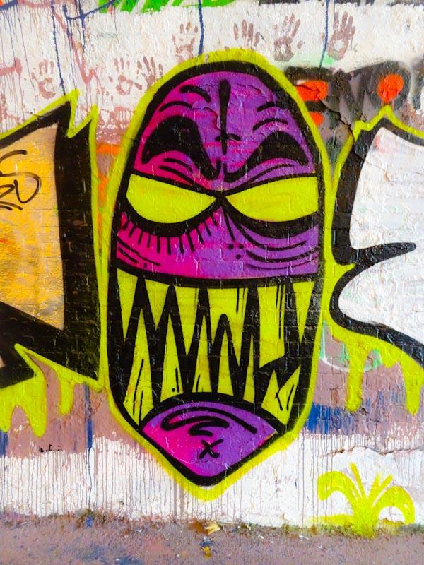 Angry Face, St Werburghs, Bristol, November 2020