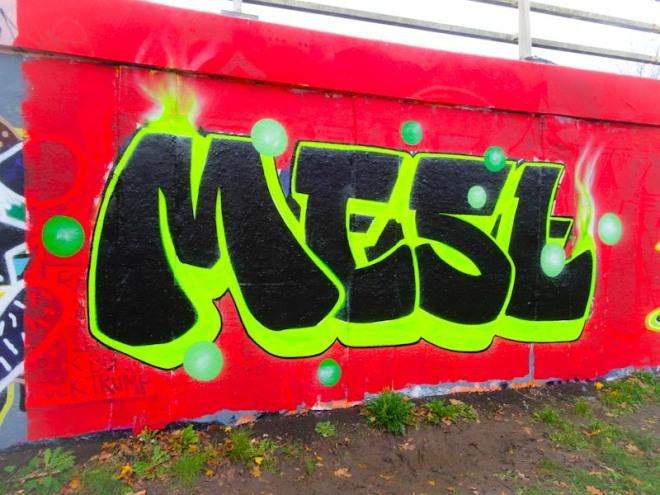 Mest, M32 roundabout, Bristol, November 2020
