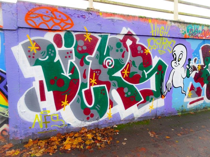 Biers, M32 roundabout, Bristol, November 2020
