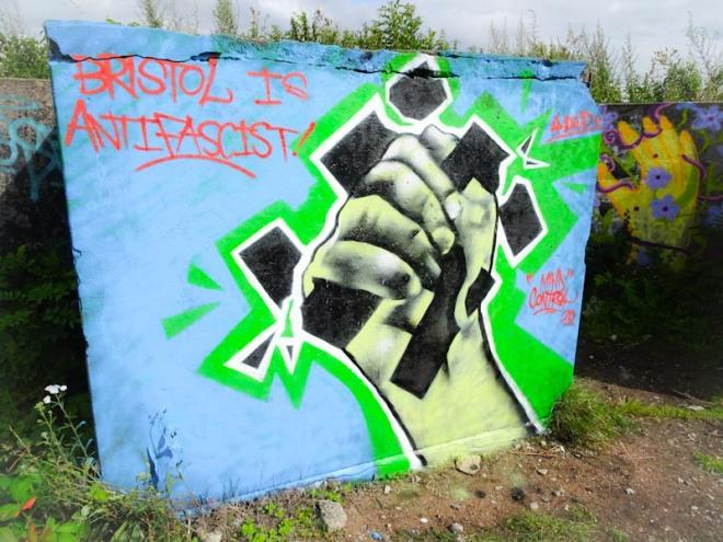 Mind Control, Purdown Battery, Bristol, July 2020