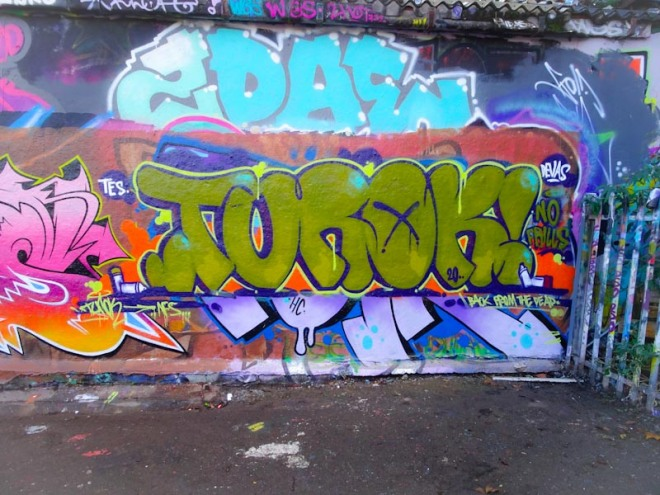 Turoe, Dean Lane, Bristol, October 2020