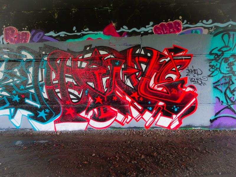 Inkie, Brunel Way, Bristol, November 2020
