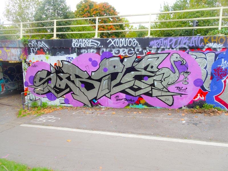 Subtle, M32 roundabout, Bristol, October2020
