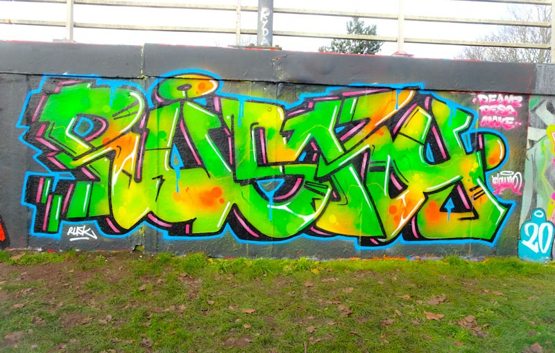 Rusk, M32 roundabout, Bristol, December 2020