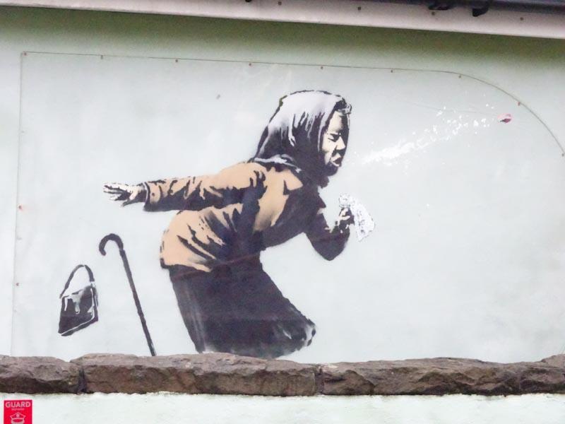 Banksy, Vale Street, Bristol December 2020