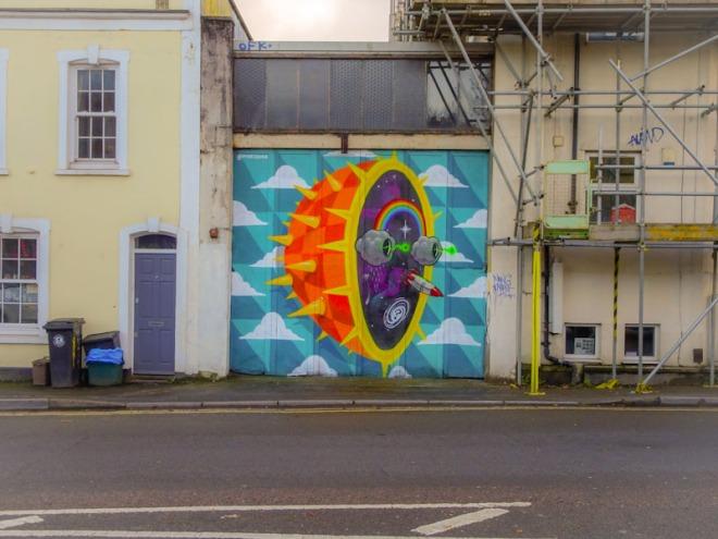 3Dom, Sevier Street, Bristol, December 2020