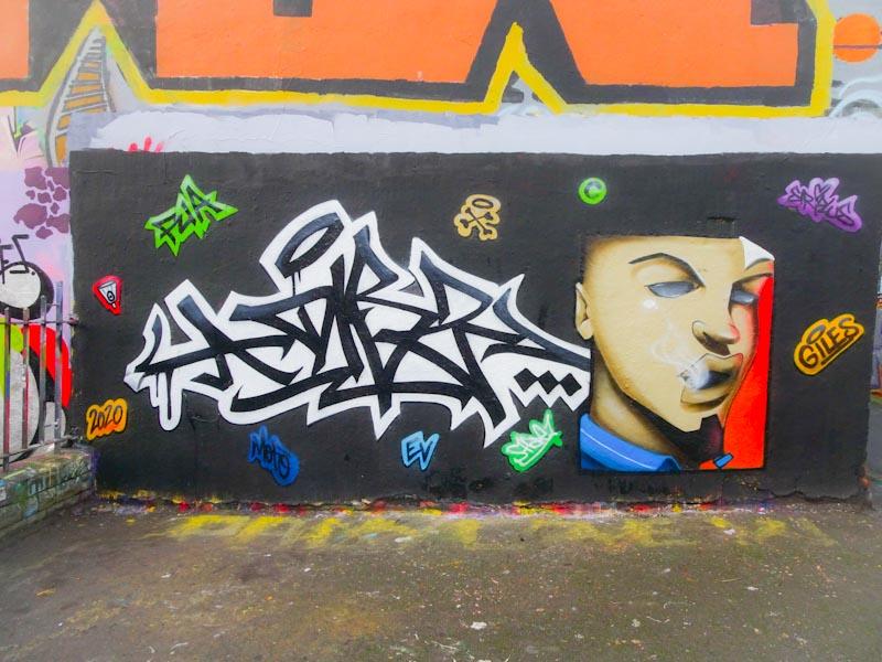 Dibz and Shade One, Dean Lane, Bristol, December 2020