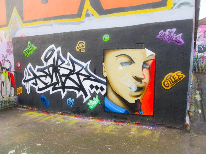 Dibz and Shade One, Dean Lane, Bristol, December 2020